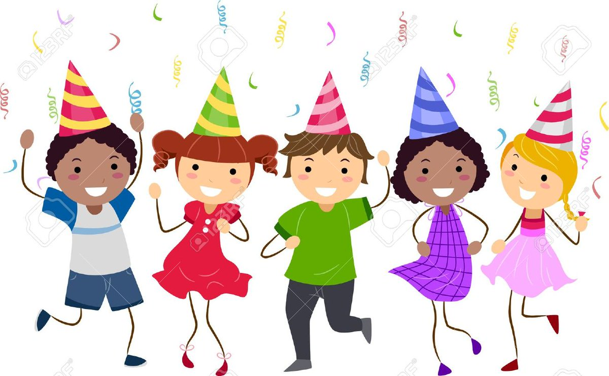 Party clipart school party. Glenboig primary on twitter