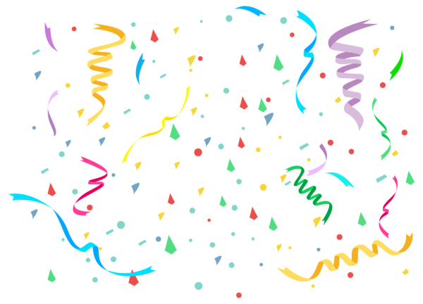 confetti drawing birthday popper doodle