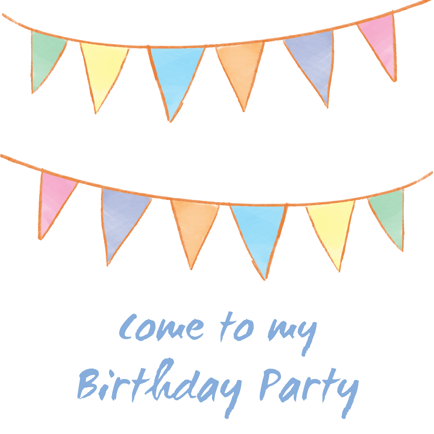Party decoration png. Birthday clip art material