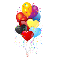 Party supplies png. Themes and decorations props