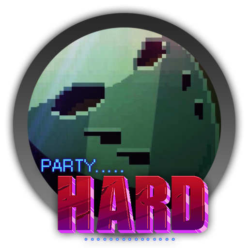 Party hard png. Icon by blagoicons on