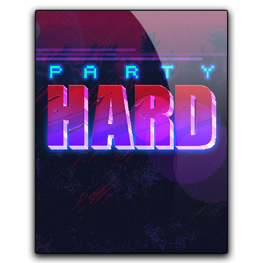 Party hard png. Icon by hazzbrogaming on