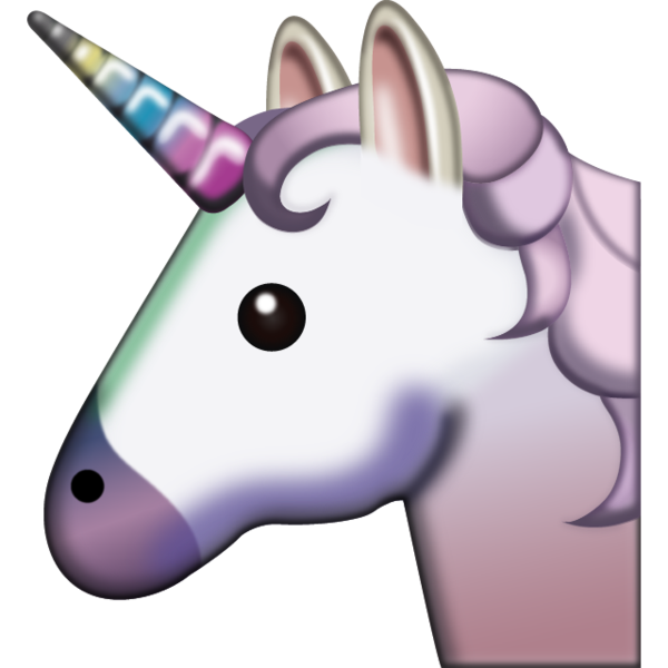 Party horn emoji png. Unicorn add some magic