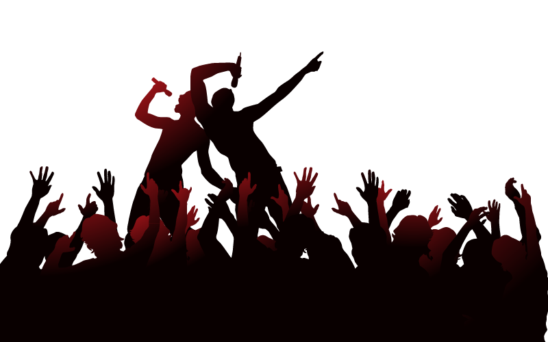Party people dancing png. Silhouette dance illustration album
