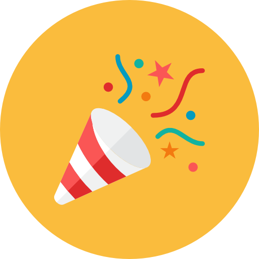 Party poppers png. Icon kameleon iconset webalys