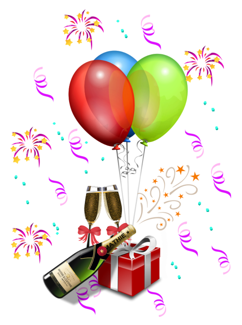 Party streamers png. Decoration transparent clipart borders