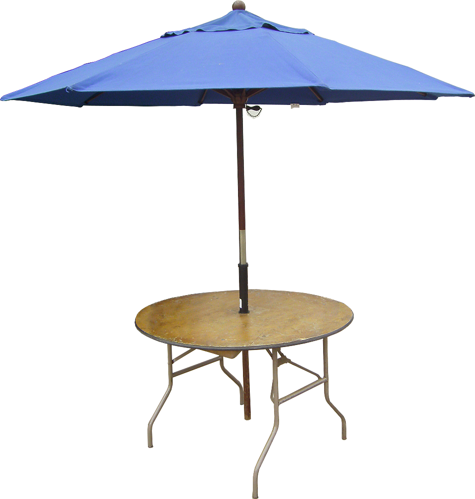 Party table png. Seater round with