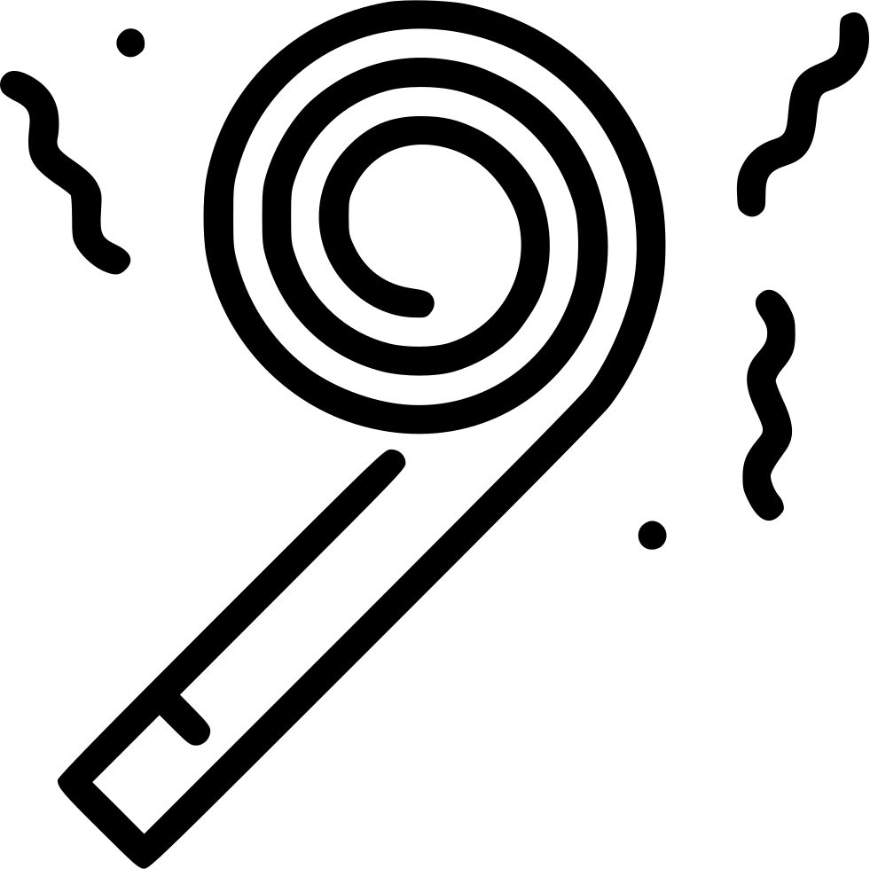 Party whistle png. Svg icon free download