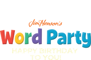 Party word png. Happy birthday netflix