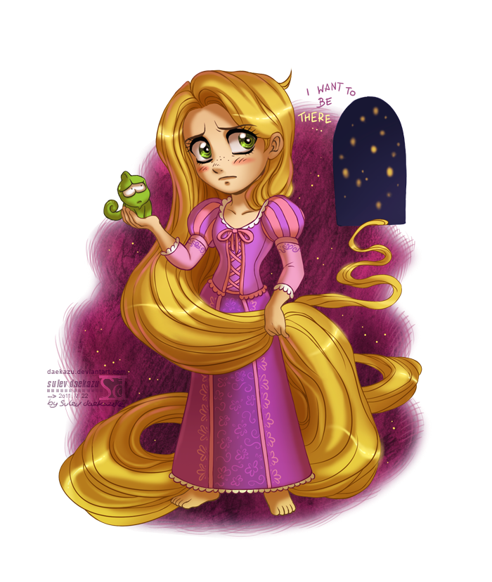 Feat by daekazu deviantart. Pascal drawing rapunzel real life picture freeuse