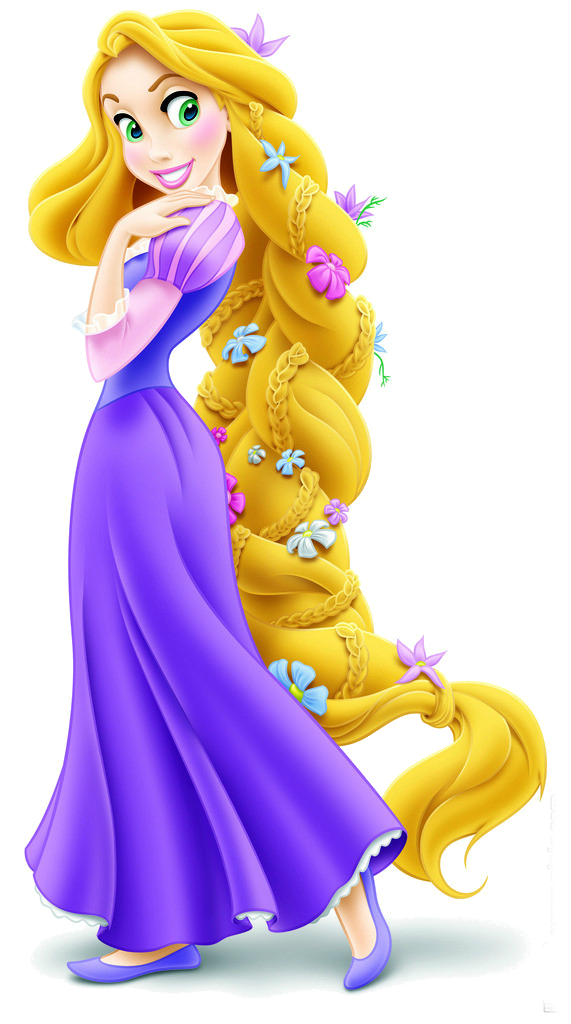 With flowers in her. Pascal drawing rapunzel real life clipart library stock