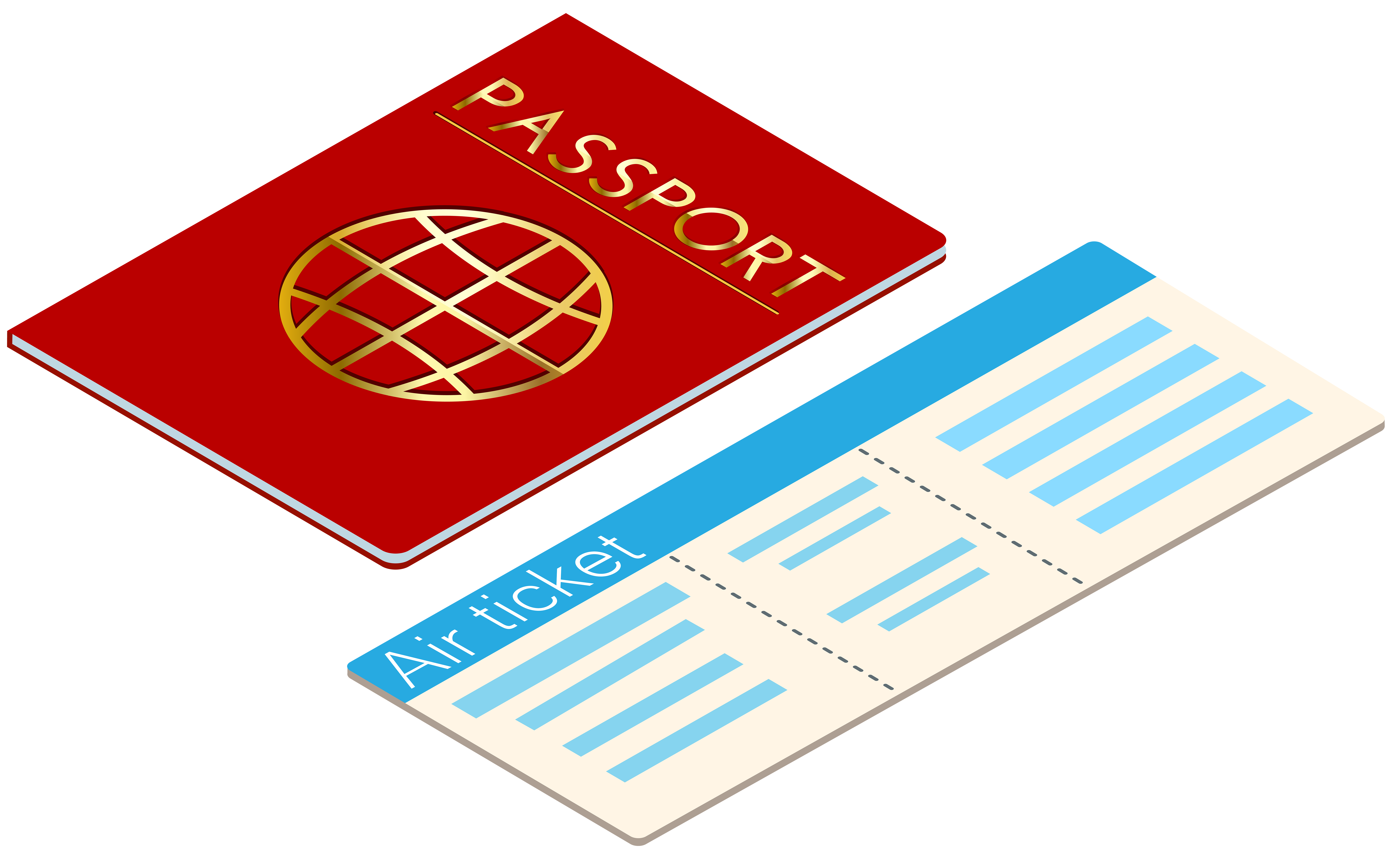 And ticket transparent clip. Passport clipart graphic library