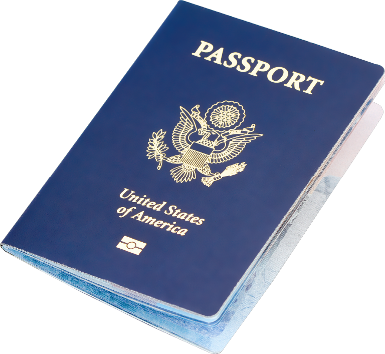 Passport clipart. Png image