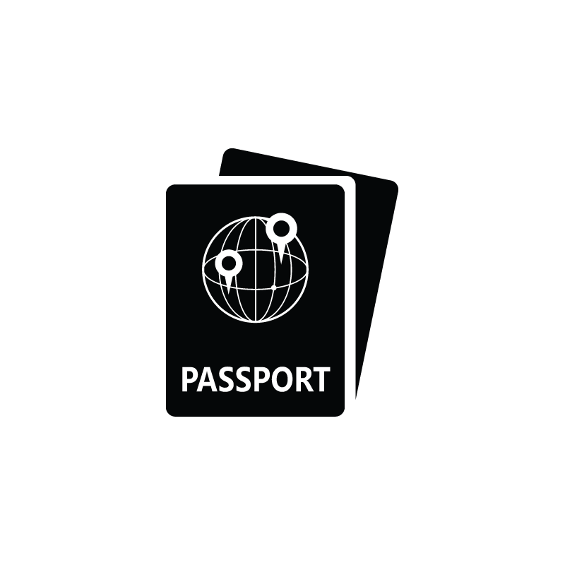 Passport clipart boarding pass. Travel icon