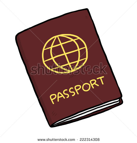 Clipground showing post media. Passport clipart cartoon clipart freeuse download