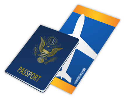 Stamp clipart free travel. Passport computer icons visa