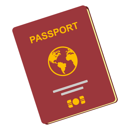 Passport photo png. Travel icon transparent svg