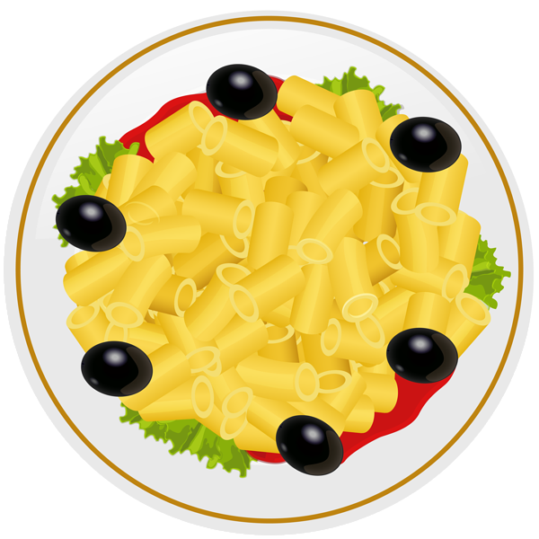 Plate of food png. Pasta clip art image