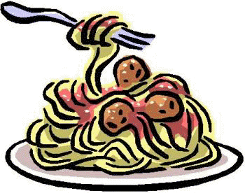 Pasta transparent cartoon. Vector library free download
