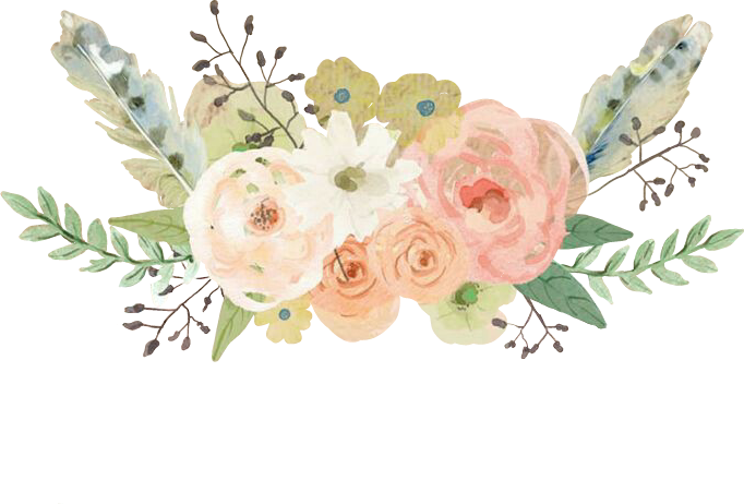 Pastel flower png. Flowers flores feathers watercolor
