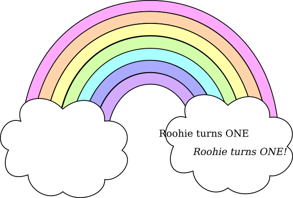 Pastel rainbow png. Roohie clip art at
