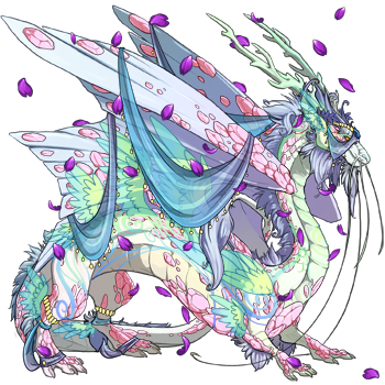 Drawing pastel dragon. Candy themed dragons share