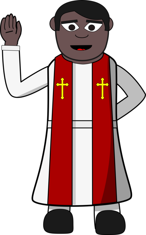 Pastor clipart. Priest preacher clergy christianity