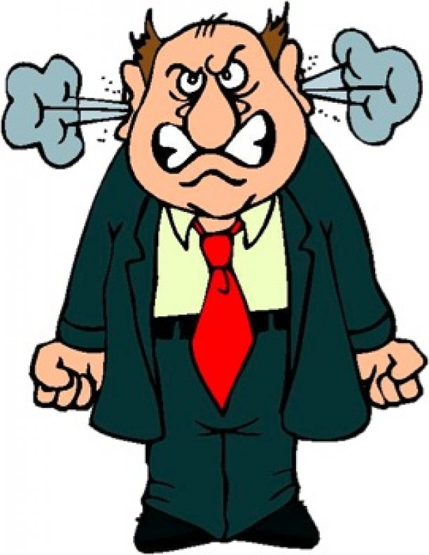 Pastor clipart mean person. Nasty people on yahoo