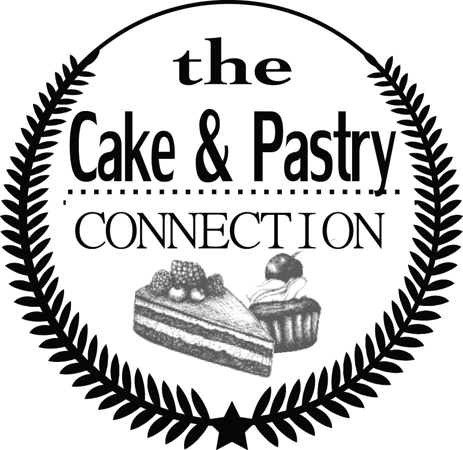 Pastry drawing cake. The and connection just