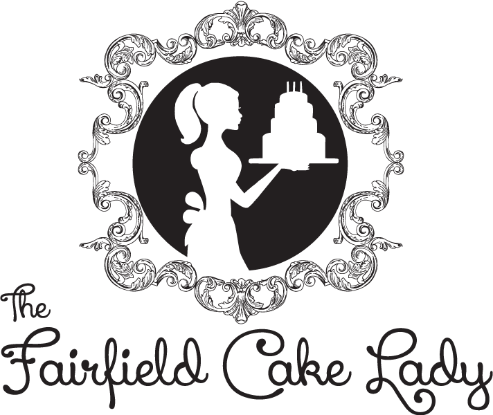 Pastry drawing artistic. The fairfield cake lady