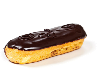 Pastry drawing eclair. Unifiller europe eclairs