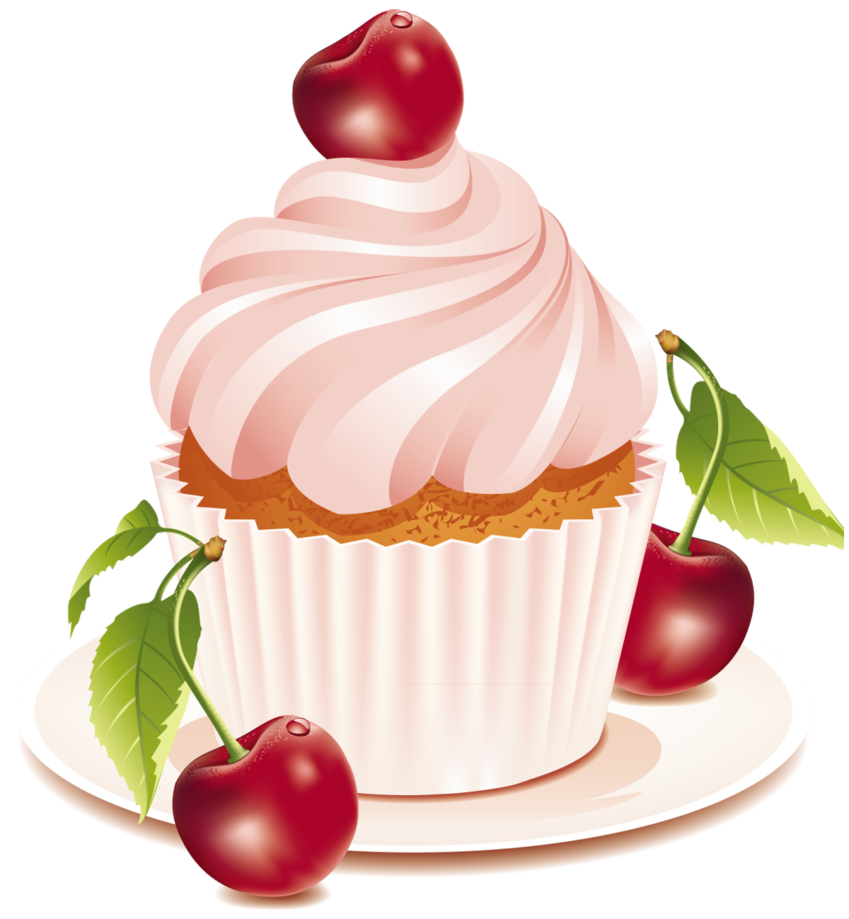 Pastry drawing vintage cookie. Cherry cake png clipart