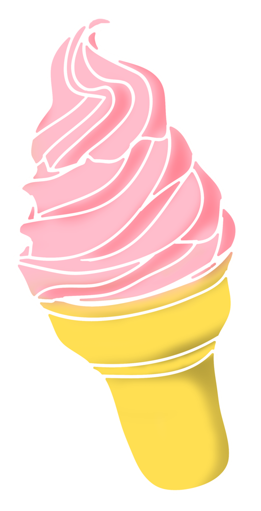 Pastry drawing vintage ice cream. Frozen treat clip art