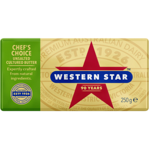 Pat of butter png. Western star chefs choice