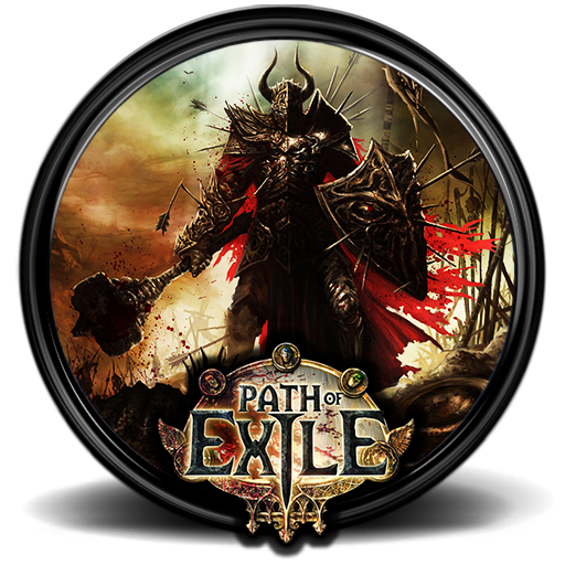 Path of exile png. Game icon x by