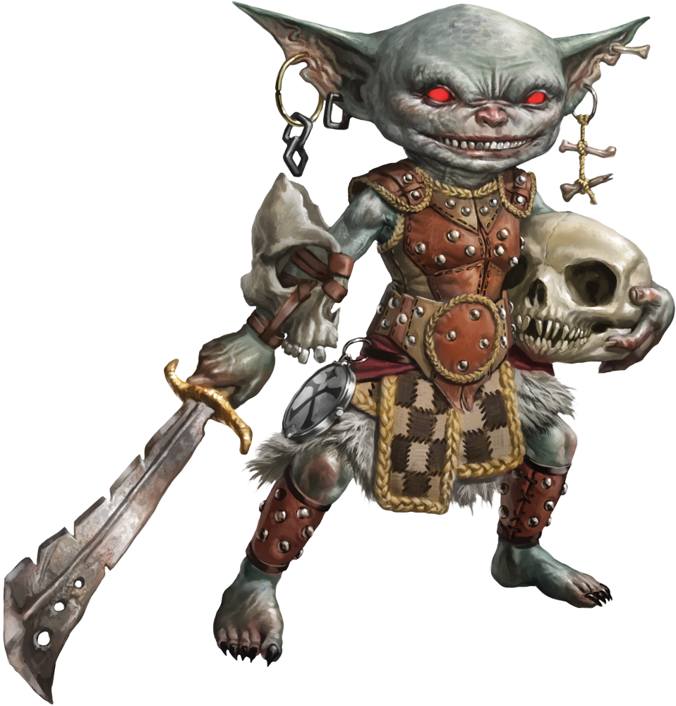 Pathfinder goblin png. Lone shark games on