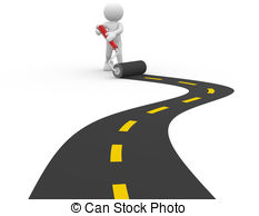 Pathway clipart paved road. Man illustrations and stock svg transparent download