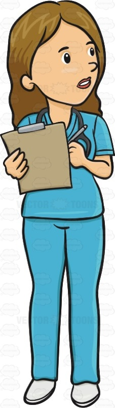Patient clipart doctor note. Woman is adding notes