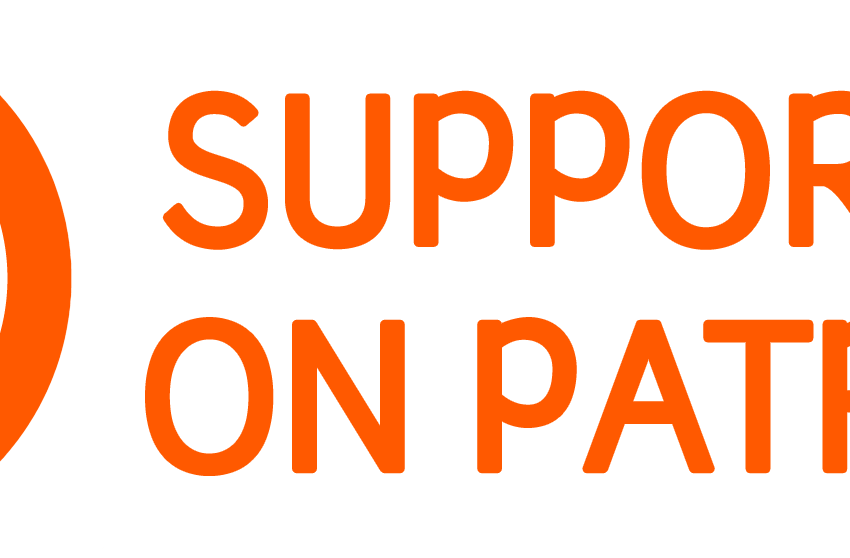 Patreon support png. Entertainment talk on