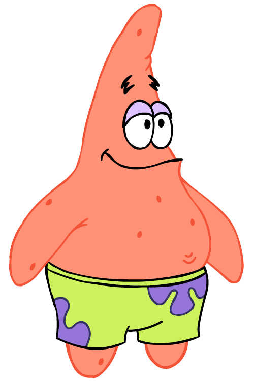Spongebob And Patrick Png Picture 796041 Patrick Star Png
