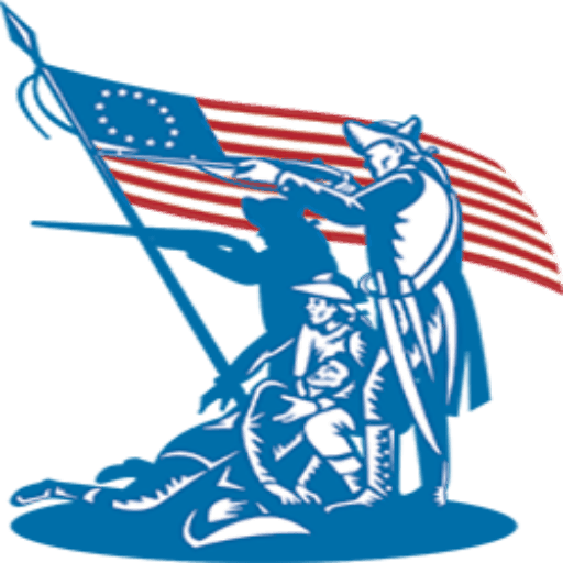 patriots black and. American revolution clipart troops american jpg black and white stock