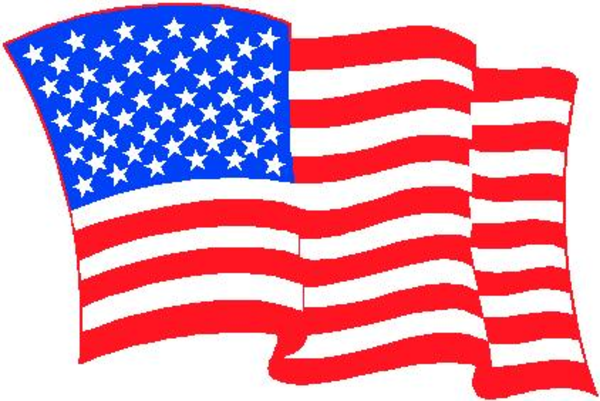Patriotic clipart graphic black and white download