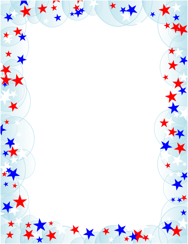 Patriotic clipart frame. Free page borders political