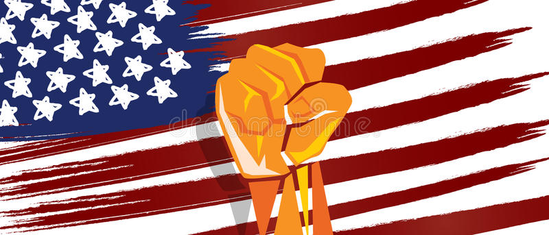 Patriotic clipart nationalism. Usa america independence hand clipart black and white download