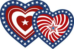 Patriotic clipart. Animated gif hearts gifs