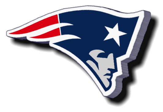 patriots vector decal