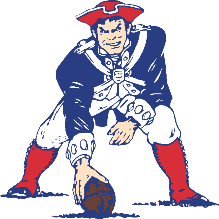 patriots old logo png