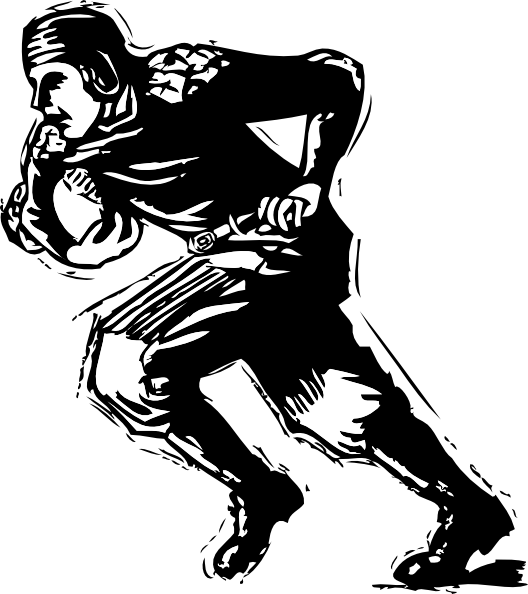 Free old football cliparts. Drawing sport cool clipart download