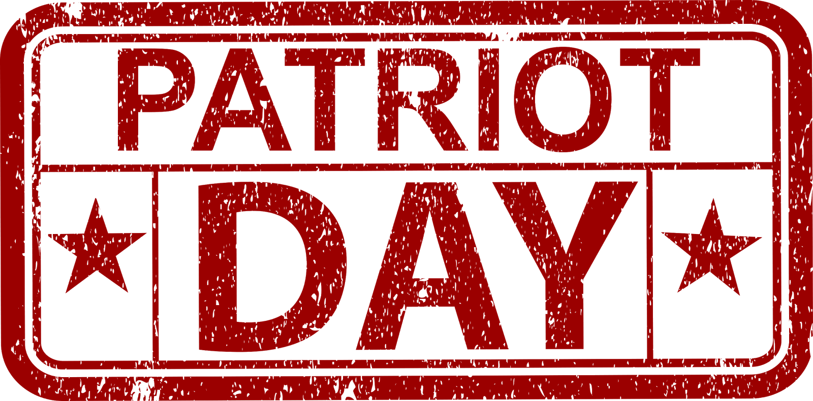 Patriots day logo png. Excel math running a