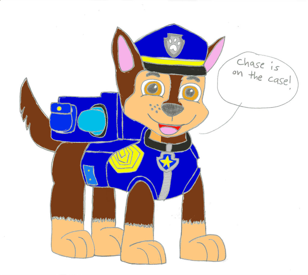 Patrol clipart. Chase paw at getdrawings